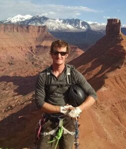 Travis Sapp, AMGA certified climbing instructor and climbing guide in Red River Gorge, Kentucky. PMRP, Muir Valley, Daniel Boone National Forest, Rock Climbing, Trad Clinic, Anchor Building Clinic,