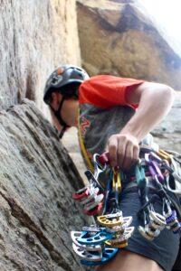 Red Rover Gorge Kentucky Climbing Guide Service, Traditional Climbing Clinics, Trad Climbing Clinics, Trad Routes in Red River Gorge, Cams, Nuts, Stoppers, Trad Rack